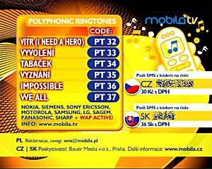 Mobila TV - nabídka obsahu pro mobily v Česku a na Slovensku