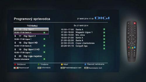 Placená satelitní televize v Česku (2.): Digi TV - DigiZone.cz  |Program Digi Sport