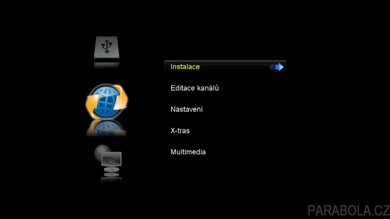 AB CryptoBox 700HD - jednoduchý satelitní přijímač s HEVC za