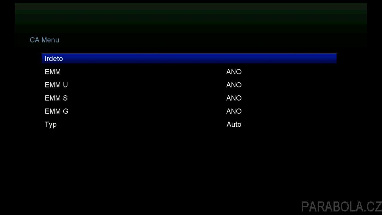 """d030490f1 16 - AB CryptoBox 700HD, CA menu. Další zajímavou aplikací pro přehrávání  videí je Dailymotion player. K dispozici je i řada aplikací jako """"počasí"""",  ..."""