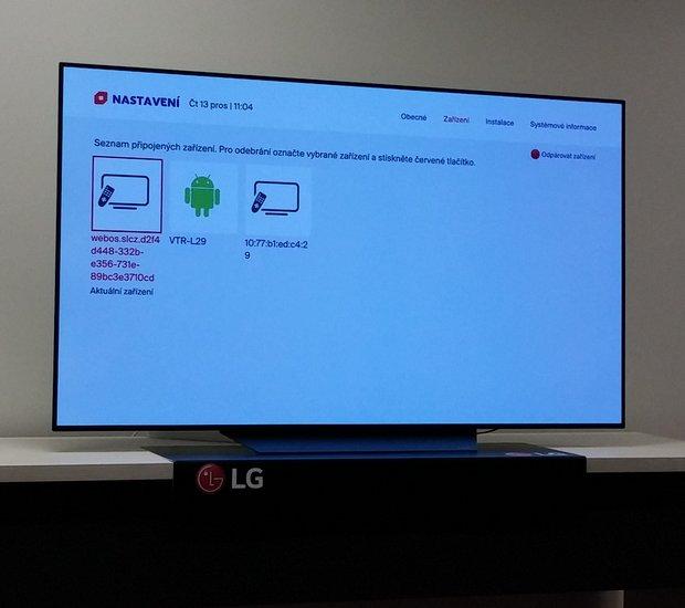 9e3d62869 3 - Skylink Live TV na televizoru LG, spárovaná zařízení. Po spuštění  aplikace Skylink Live TV má možnost se nový uživatel zaregistrovat,  stávající zákazník ...