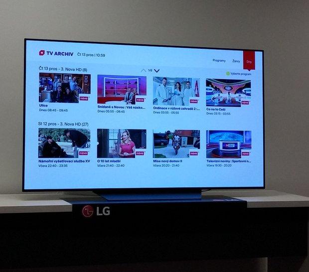 a907d1813 5 - Skylink Live TV na televizoru LG, TV archív. Aktuální kampaň operátora