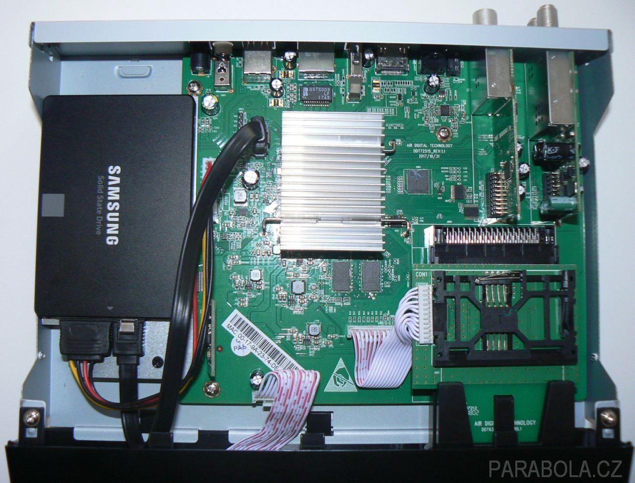 Zgemma H7S - rychlý levný combo UHD přijímač s podporou DVB