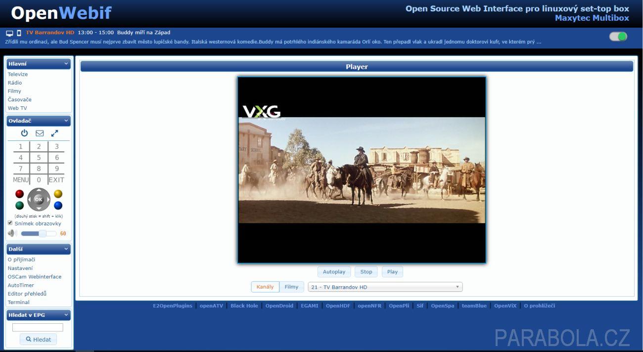 MAXYTEC Multibox 4K - DVB přijímač s kombinovaným tunerem a