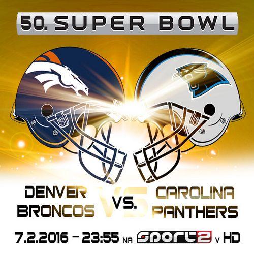 Obrázek k textu: Jubilejní 50. Super Bowl již tuto neděli na Sport2
