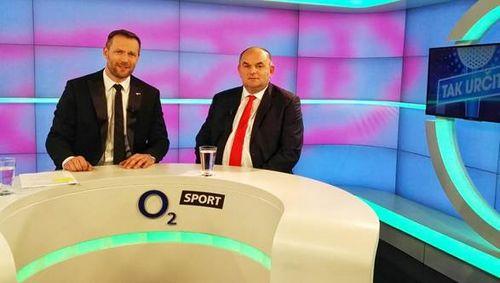 Obrázek k textu: Miroslav Pelta hostem talk show na O2 Sport