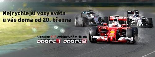 Obr�zek k textu: Formule 1 startuje u� tento t�den exkluzivn� na Sport1 a Sport2