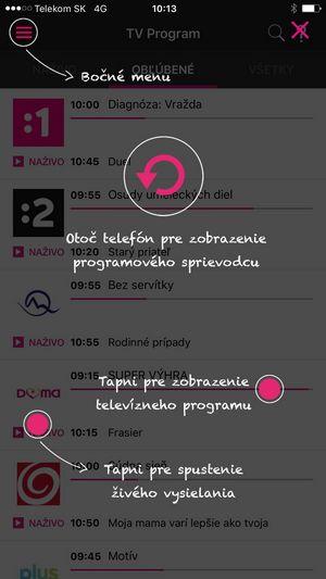 Obrázek k textu: Telekom prináša úplne novú aplikáciu Magio GO pre iOS
