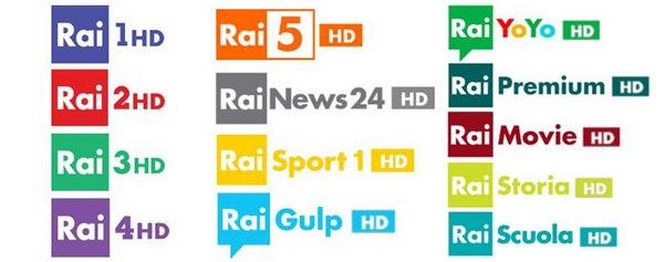 Obrázek k textu: 5 nových HD kanálů Rai od 3.1.2017. Chystané změny na TP