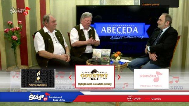 Obrázek k textu: Šlágr TV spustil HbbTV aplikaci i na satelitu
