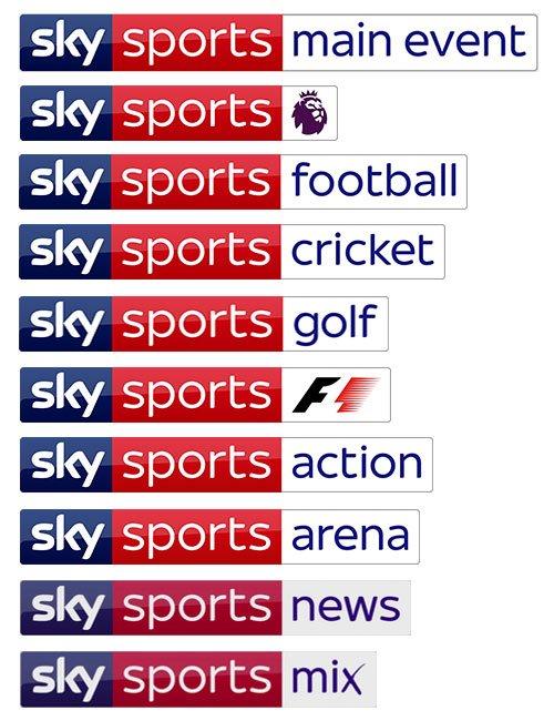 Obrázek k textu: Sky UK mění kanály Sky Sports