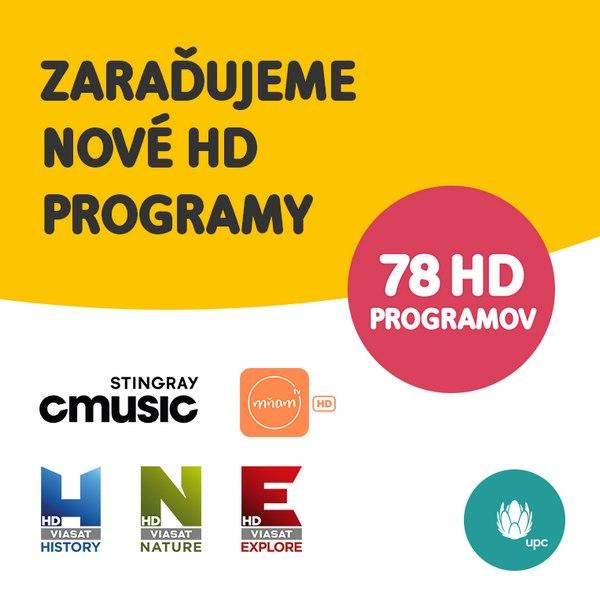 5 nových HD programů v UPC SK, rozšířená MyPrime - Parabola.cz Horizon Go Upc Sk Sledovat