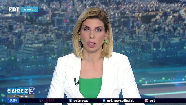 ERT World HD - opname vanaf het ontvangende station