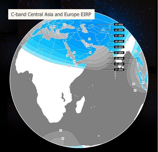 46 градус азербайджан супутники ещё