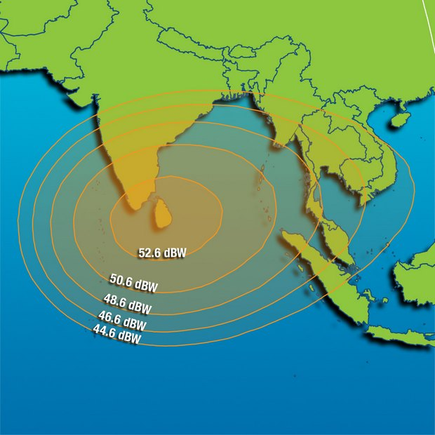 Footprint Intelsat 904