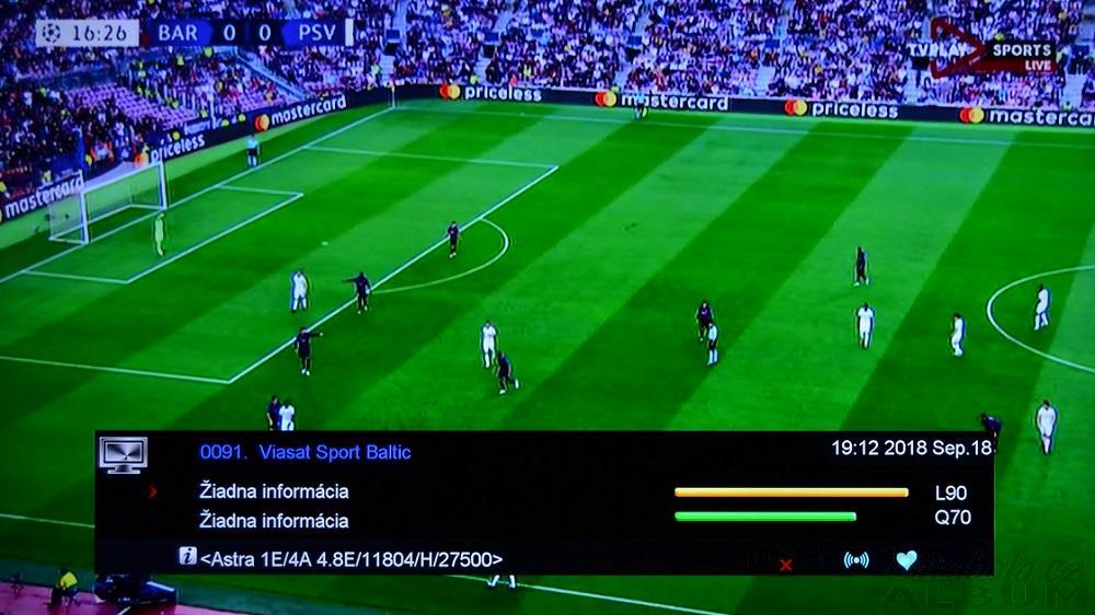 TV Play Sports HD na 4,8,E už zakodovali - Fórum - Parabola cz